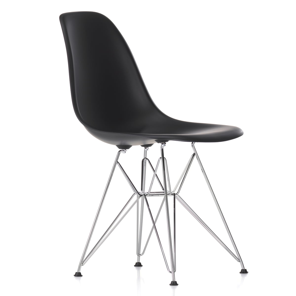 vitra dsr eames plastic side chair bei. Black Bedroom Furniture Sets. Home Design Ideas