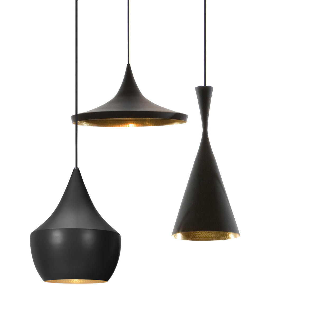 beat light pendelleuchten von tom dixon. Black Bedroom Furniture Sets. Home Design Ideas