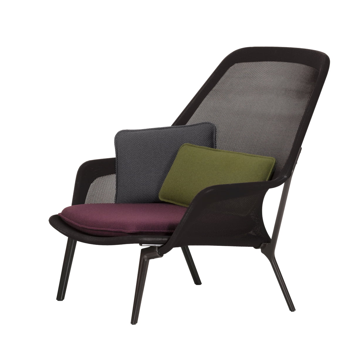 slow chair ottoman vitra shop. Black Bedroom Furniture Sets. Home Design Ideas