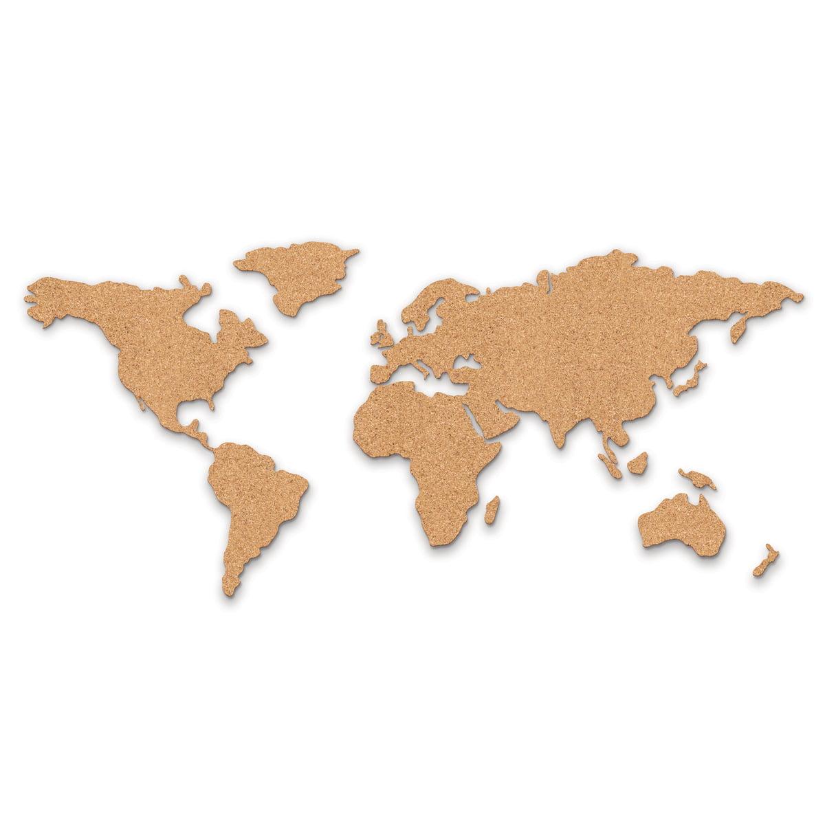 ... Corkboard Map Pinnwand