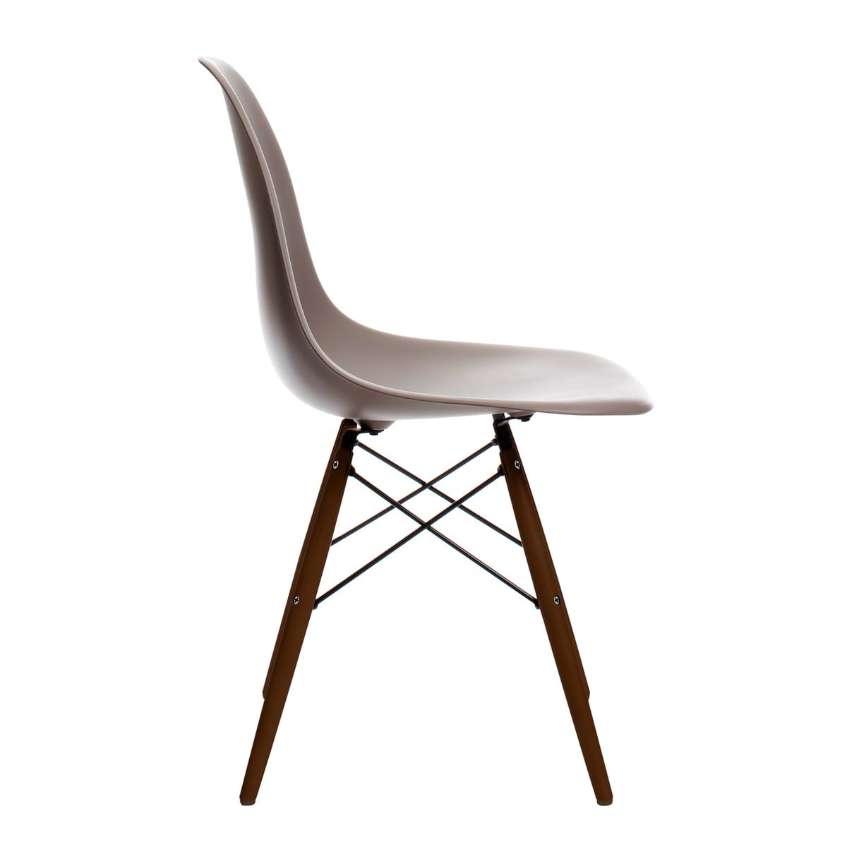 eames plastic side chair dsw 41 im shop. Black Bedroom Furniture Sets. Home Design Ideas