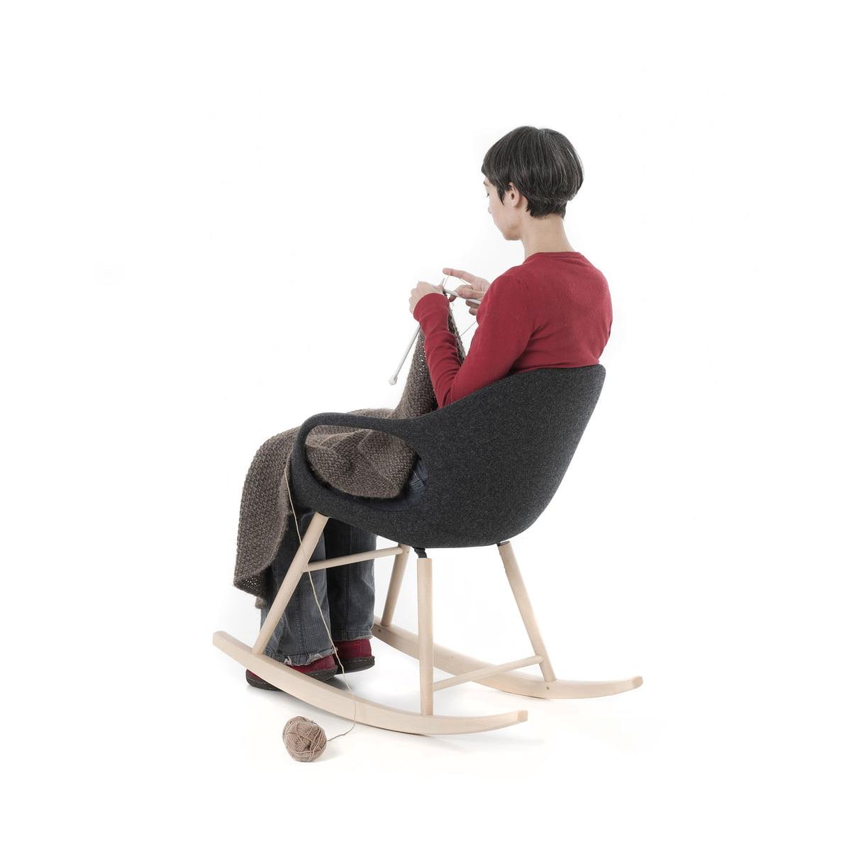 Schaukelstuhl Zum Entspannen Und Zurücklehnen