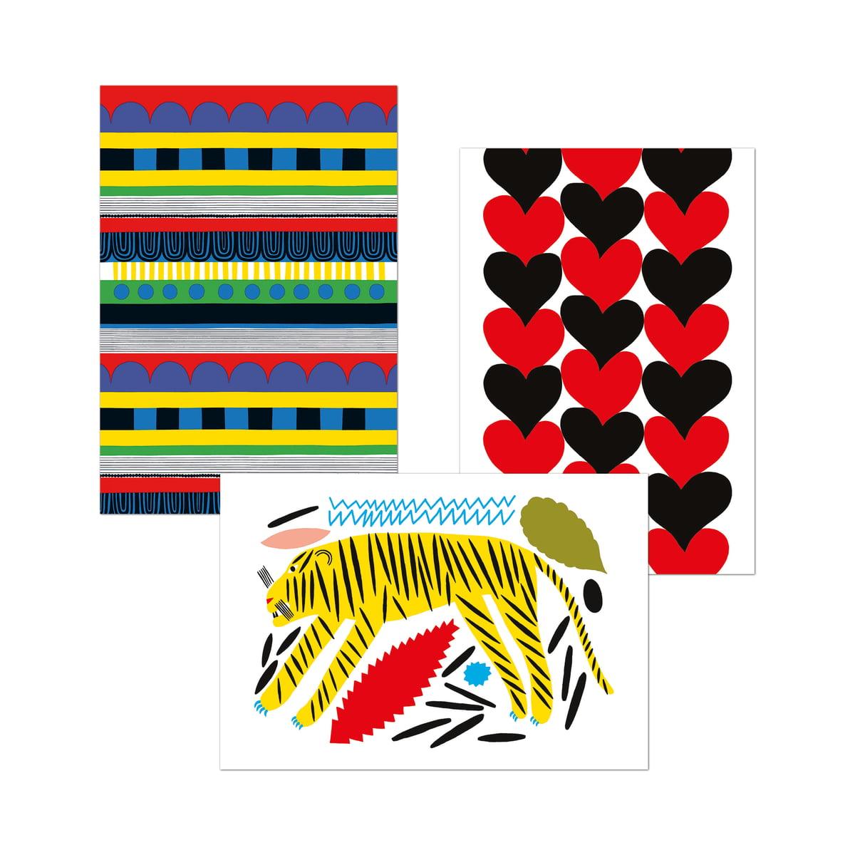 100 marimekko postkarten von dumont online kaufen. Black Bedroom Furniture Sets. Home Design Ideas