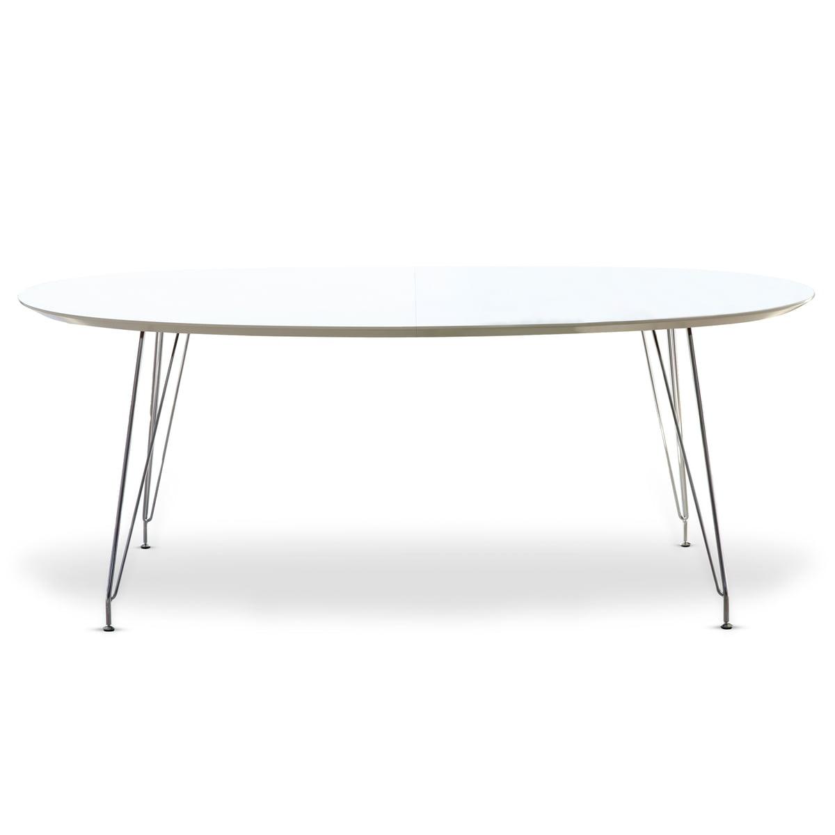 Esstisch weiß oval  DK10 Esstisch von Andersen Furniture