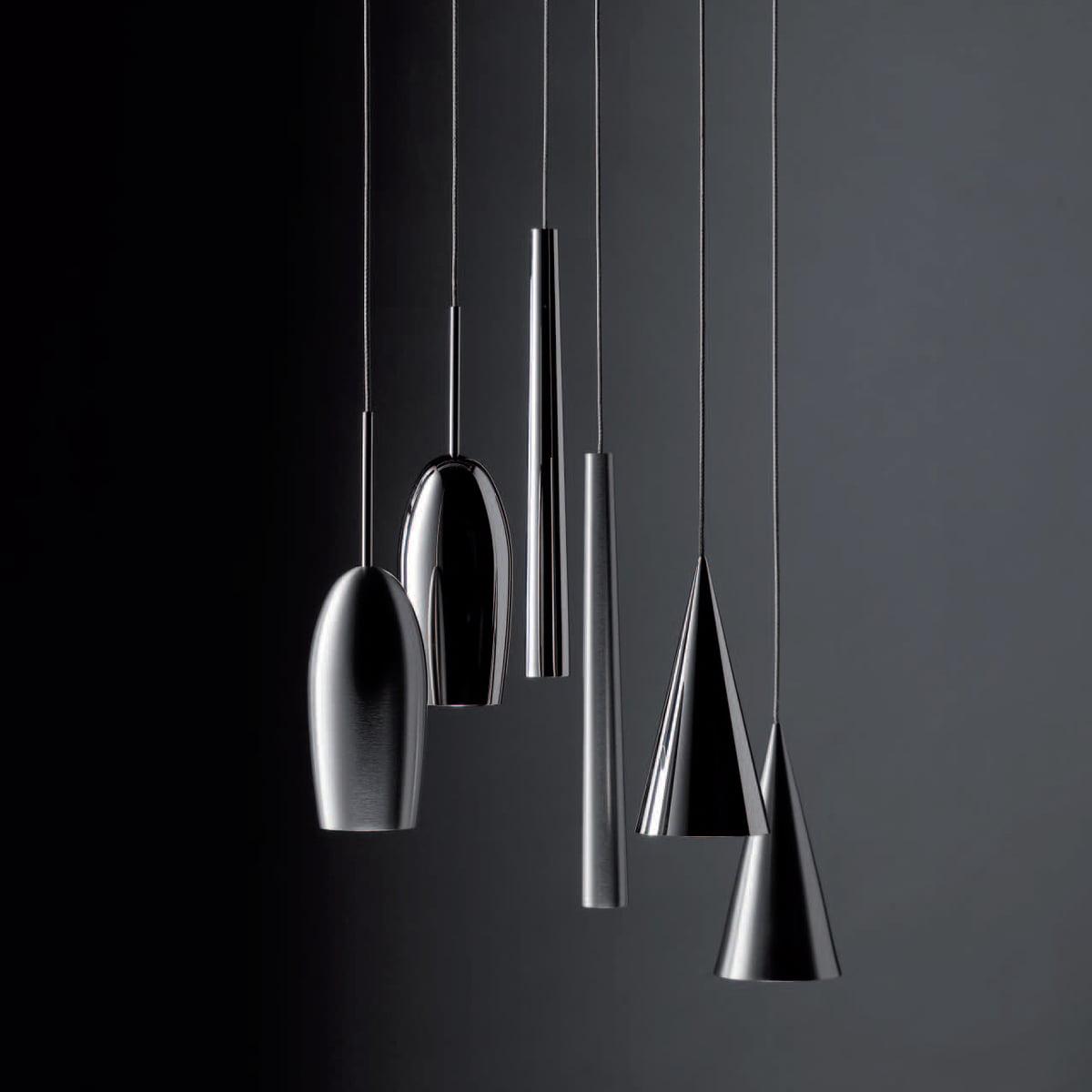 Flute metall pendelleuchte led von steng licht for Licht leuchten
