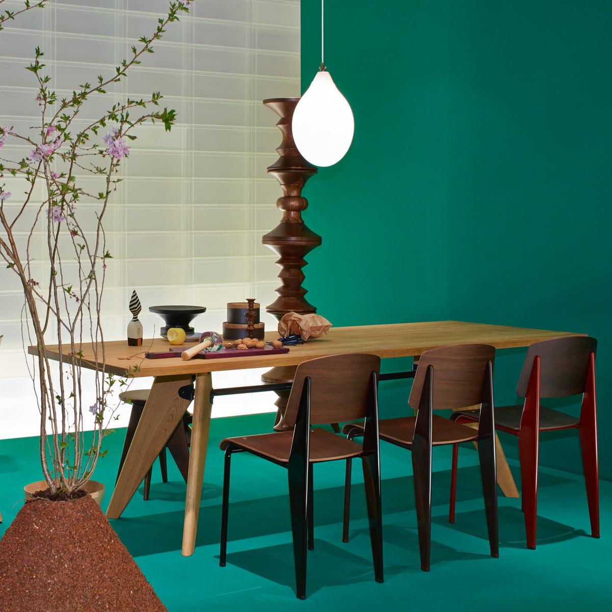 Table solvay esstisch von vitra im shop for Esstisch vitra