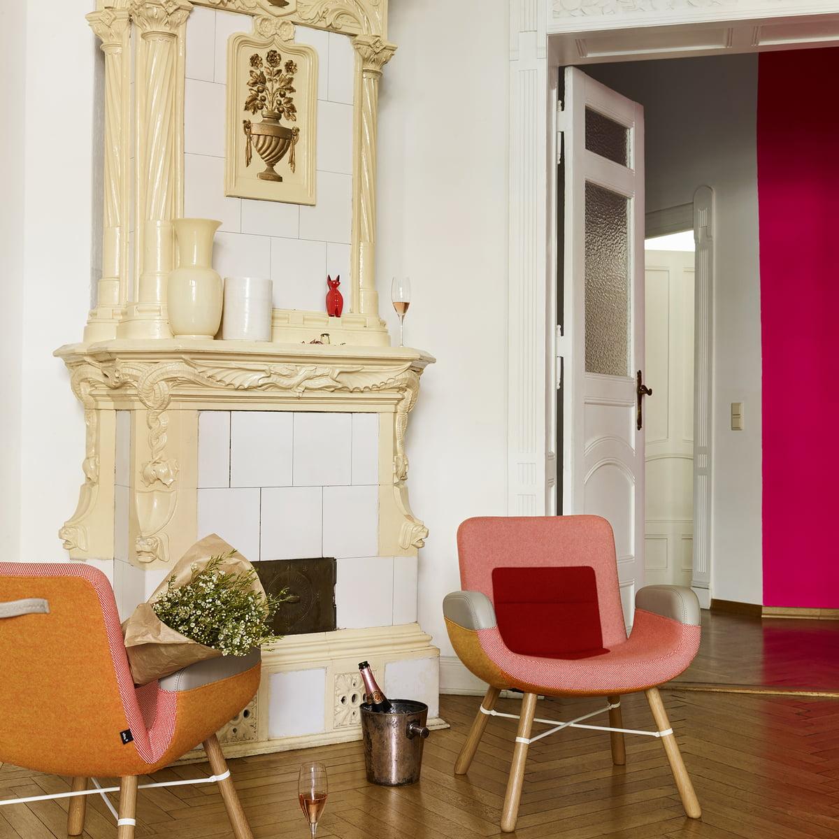 east river chair von vitra bei. Black Bedroom Furniture Sets. Home Design Ideas