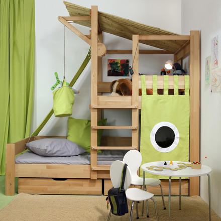 baumhaus bett von de breuyn im shop. Black Bedroom Furniture Sets. Home Design Ideas