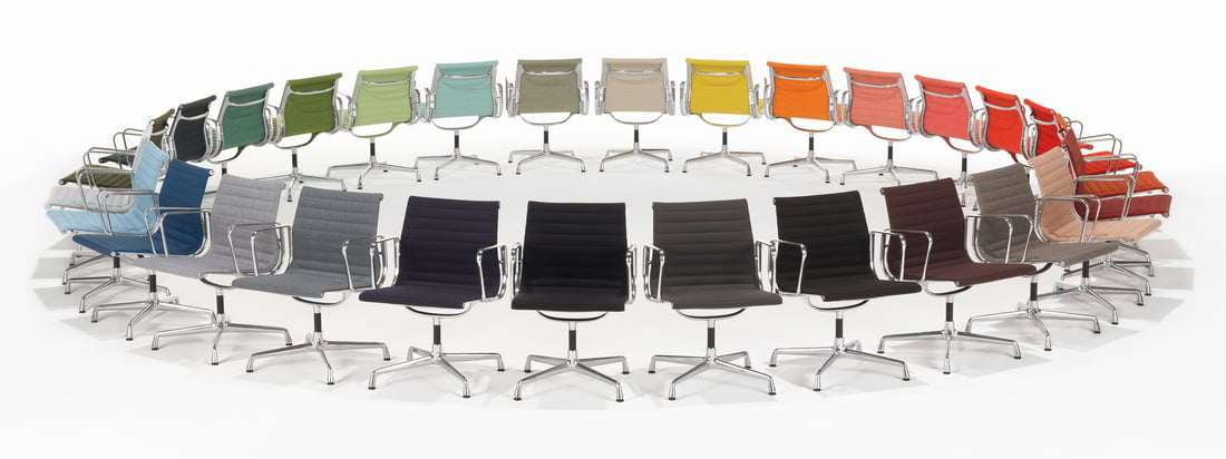 aluminium group von vitra. Black Bedroom Furniture Sets. Home Design Ideas