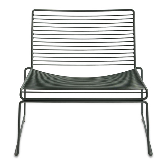 Hay - Hee Lounge Chair, racing green (RAL 6012)